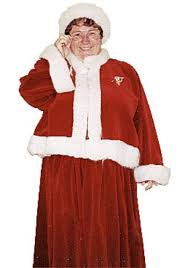 mrs santa claus costume plus size mrs claus costume christmas plus size costumes