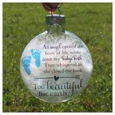 infant loss christmas ornaments baby memorial ornament miscarriage keepsake baby loss ornament