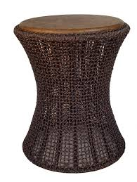 round wicker end table outdoor wicker end tables cole papers design wicker end tables