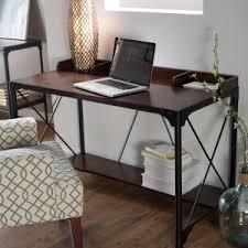 Industrial Computer Desks Distressed Industrial Style Desks Hayneedle