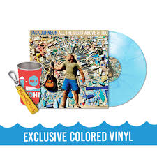 jack johnson all the light above it too all the light above it too exclusive vinyl bundle jack johnson