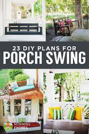 front porch plans free 23 free diy porch swing plans ideas to chill in your front porch