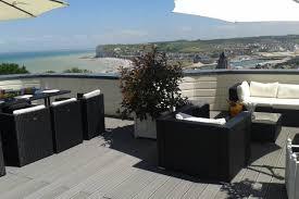 chambre d hote normandie vue mer chambre 4 balnèo privée terrasse vue mer ville villas à