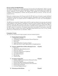 Sample Leasing Consultant Resume by Rhode Island Rfp 2015 For 529 Program Management