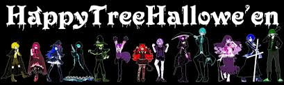 halloween anime background happy tree friends halloween wallpaper 3360x1015 152841