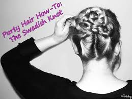 swedish hairstyles holiday hair tutorial the swedish knot holiday hair tutorial 1