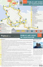 Vancouver Skytrain Map Public Art Ride In Vancouver U2014 Bikabout