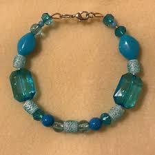 blue bracelet images Jewelry handmade blue bracelet poshmark jpg