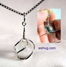 crystal ball necklace images Gem stone ball pendant pools of light quartz crystal ball jpg