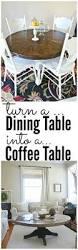 diy round coffee table liz marie blog