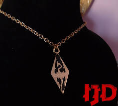 golden jewelry necklace images Skyrim jewelry silver golden skyrim necklace golden skyrim