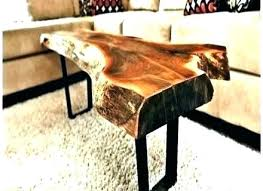 wood stump coffee table tree trunk bedside table square wood stump side table for bedroom a