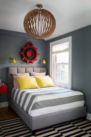 25 cool kids bedrooms that charm with gorgeous gray vintage industrial gear turned into striking wall decor in the boy s bedroom design chango