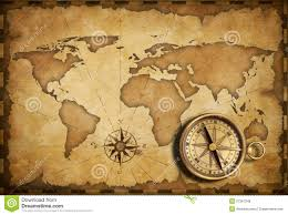 nautical map compass and nautical map royalty free stock photos image 246788