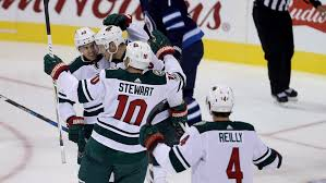 Minnesota wild swimming images Wild top jets in shootout nhl on cbc sports hockey news jpg