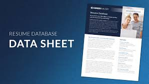 career builder resume search careerbuilder resume resume for your job application download the data sheet resume database