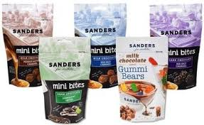 where to buy chocolate covered gummy bears sanders adds chocolate gummi bears to its mini bites line