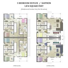 Duplex Layout Apartments In College Station The Junction