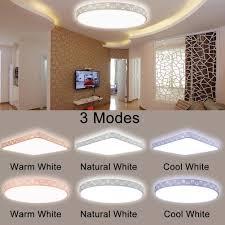Wohnzimmer Lampe Dimmen Neue 80 Watt Led Dimmbare Decken Licht Unterputz Leuchte Lampe