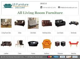 Living Room Furniture Names Living Room Furniture Names In