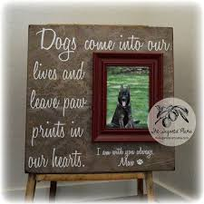memorial gifts for loss of dog picture frame gift memorial sympathy gift loss of a pet in