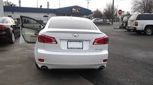 lexus matte white 2012 lexus is250 starfire pearl white stock 169586 walk