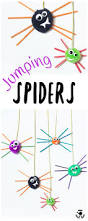 pom pom jumping spider craft kids craft room