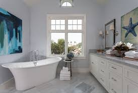 Light Blue Bathroom Paint by Cape Cod California Beach House With Blue And White Interiors