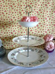 vintage cake stand vintage 3 tier cake stand paragon enchantment pattern c 1960 s