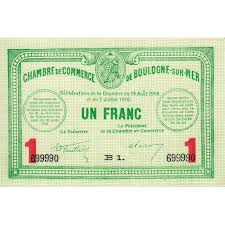 chambre de commerce boulogne chambre de commerce boulogne sur mer nouveau 1 franc chambre de