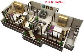 4th apple oak residency in ghansoli mumbai price location map