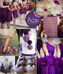 fall colors for weddings fabulous fall wedding color palette 2013 trends purple
