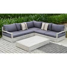 Jamie Durie Patio Furniture by Wood Patio Furniture Outdoor Sectionals Outdoor Lounge