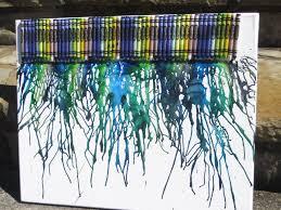 diy crayon art domestic superhero