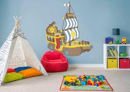 bucky pirate ship jake neverland pirates wall decal