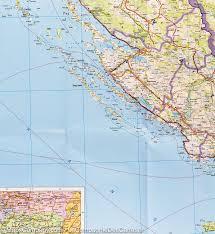 Bosnia Map Map Of Slovenia Croatia U0026 Bosnia Freytag U0026 Berndt U2013 Mapscompany