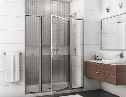 Swing Shower Doors Shower Doors Enclosures A Better View Glass Mirror Inc Nc