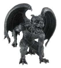 gargoyle home decor amazon com evil winged devil gargoyle statue sculpture by private