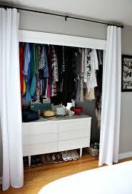 Curtains Closet Doors Closet Door Curtains And Best 20 Curtain Closet Ideas On
