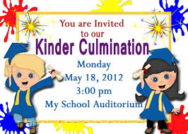 You Are Invited Card Preschool Graduation Invitations Kawaiitheo Com