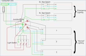 emergency light wiring diagram crayonbox co