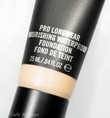 my thoughts mac pro longwear nourishing waterproof foundation