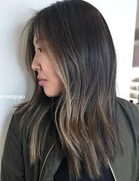 long brown hairstyles with parshall highlight 20 jaw dropping partial balayage hairstyles ash highlights