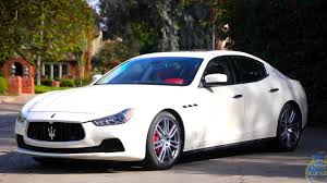 ghibli maserati 2016 maserati ghibli review and road test youtube