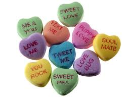 conversation heart sayings 8 best s candy heart sayings images on be my
