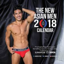 men calendar 2018 asian men calendar entour