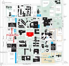 University Of Arizona Map Visitor Information Oviatt Library