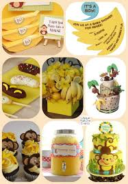 monkey baby shower ideas 2016 year of the monkey and bananas baby shower ideas