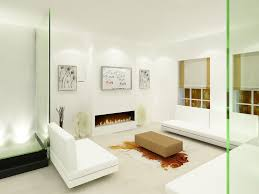 interior tips white sofa set and coffee table with fireplave also