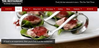 themes wordpress restaurant free wordpress themes for food blogger